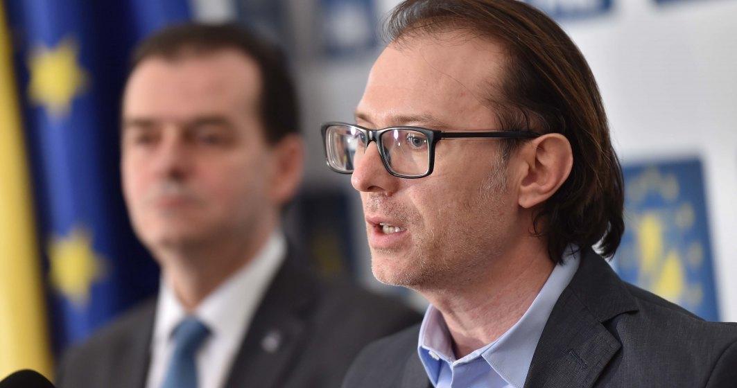 PNL propune două variante de prim-ministru: Ludovic Orban și Florin Cîțu