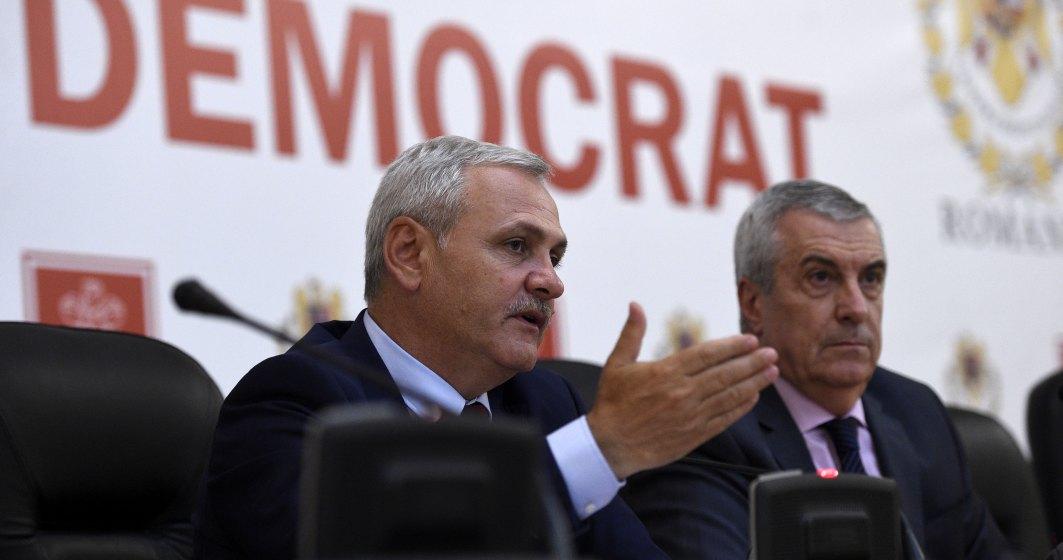"""Dragnea si Tariceanu sunt ingrijorati de """"modul incorect"""" in care Comisia Europeana a fost informata pe tema justitiei din Romania"""