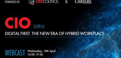 "(P) WEBCAST: CIO TALKS - Powered by CIO Council & CARIERE ""Digital first. The..."