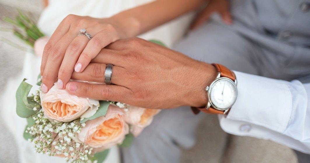 România, în top 4 la numărul de căsătorii în 2019 în UE, în contra trendului general
