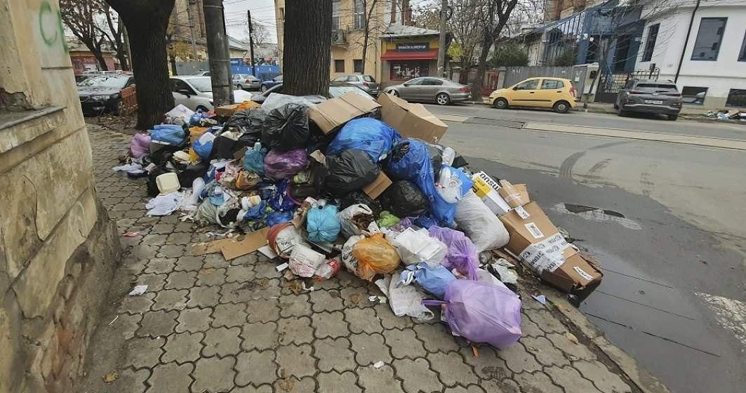 Comitetul pentru Situaţii de Urgenţă al Sectorului 1 cere Prefecturii să declare stare de alertă din cauza gunoaielor