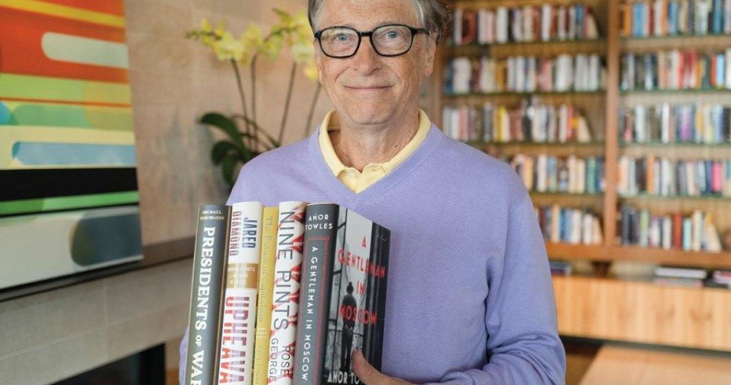 Top 5 cărți recomandate de Bill Gates. Lista de lecturi a miliardarului pentru vara lui 2021