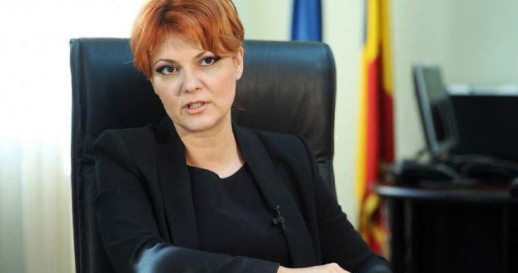 Olguta Vasilescu: Legea pensiilor intra in avizare interministeriala saptamana viitoare. Sper sa o putem adopta in doua saptamani