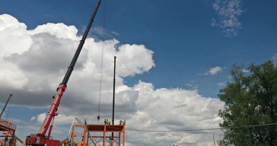 Drulă: Începe ridicarea platformei de lucru la Podul suspendat de la Brăila