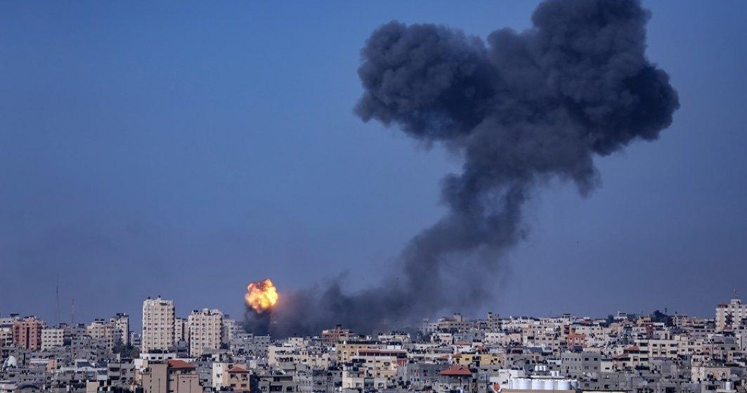 Armata israeliană: Circa 3.000 de rachete au fost lansate din Fâșia Gaza spre Israel