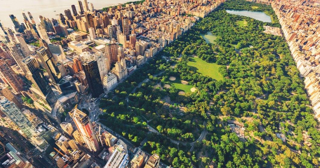 Spital de campanie, în curs de instalare în Central Park din New York