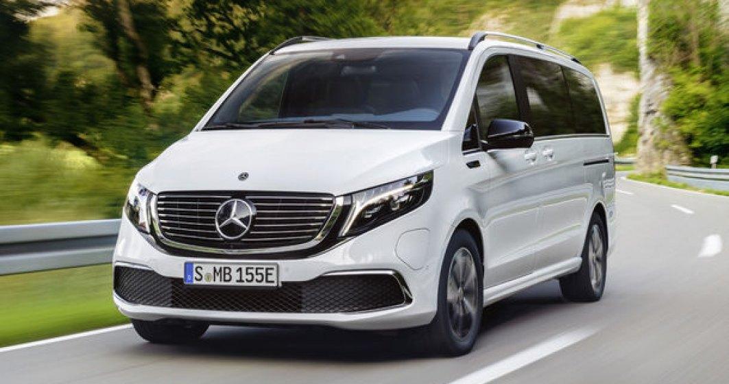 Monovolumul electric Mercedes-Benz EQV, prezentat in versiune de serie: peste 200 cai putere si autonomie de peste 400 de kilometri