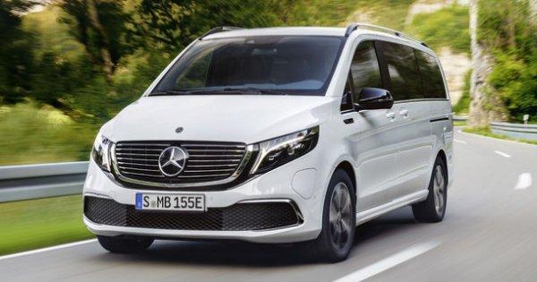 Monovolumul electric Mercedes-Benz EQV, prezentat in versiune de serie: peste...