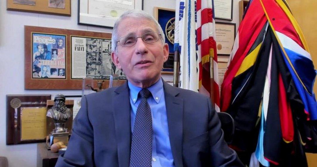 Anthony Fauci, imunologul american, s-a vaccinat anti-COVID