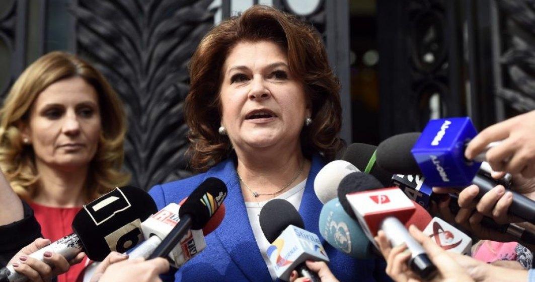 Camera Deputatilor voteaza ridicarea imunitatii Rovanei Plumb. Comisia Juridica a dat aviz negativ