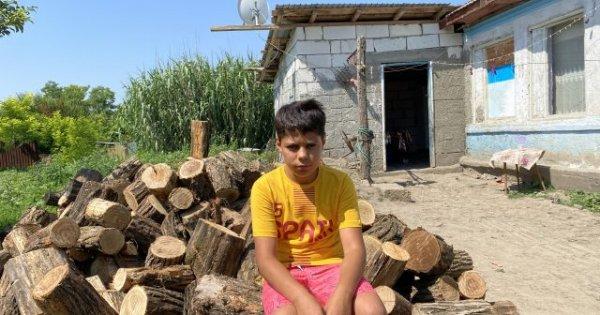 Gabriel, băiețelul de etnie romă al cărui mare vis a fost să primească o...