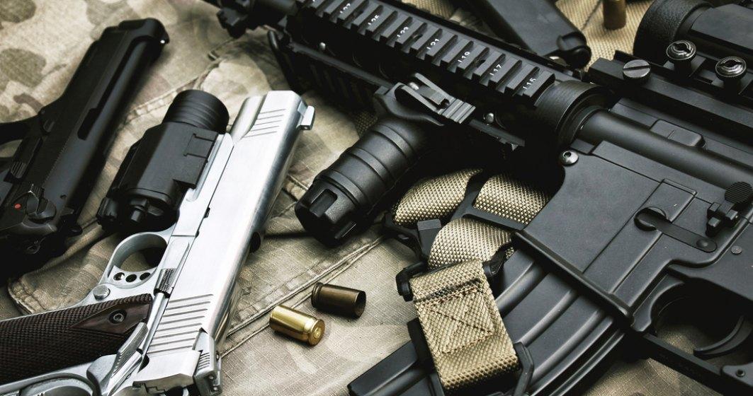 Aproape 3000 de arme de foc, găsite și confiscate de polițiștii de frontieră
