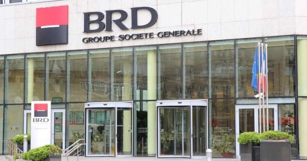 BRD Societe Generale trece pragul de 1 miliard de lei in profit net, ajutata de castigul exceptional din vanzarea actiunilor Visa