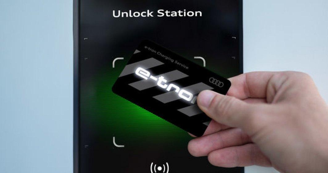 Audi anunta preturile pentru e-tron Charging Service: minim 8 euro pentru fiecare incarcare
