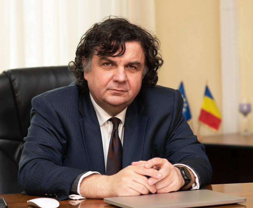 Florin Drăgan, rectorul Universității Politehnica Timișoara