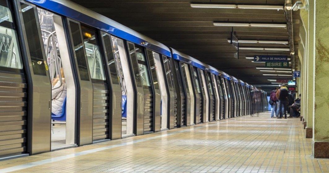 Circulaţie cu dificultate pe Magistrala 3 de metrou, din cauza unei posibile tentative de suicid la staţia Lujerului