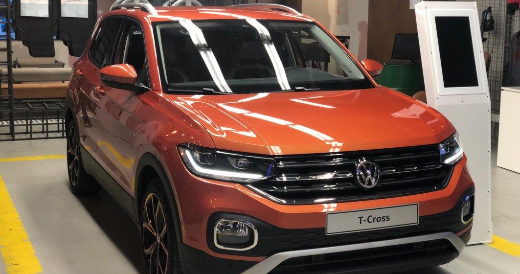 Noul Volkswagen T-Cross a fost expus in Concept Store-ul din Plaza Romania