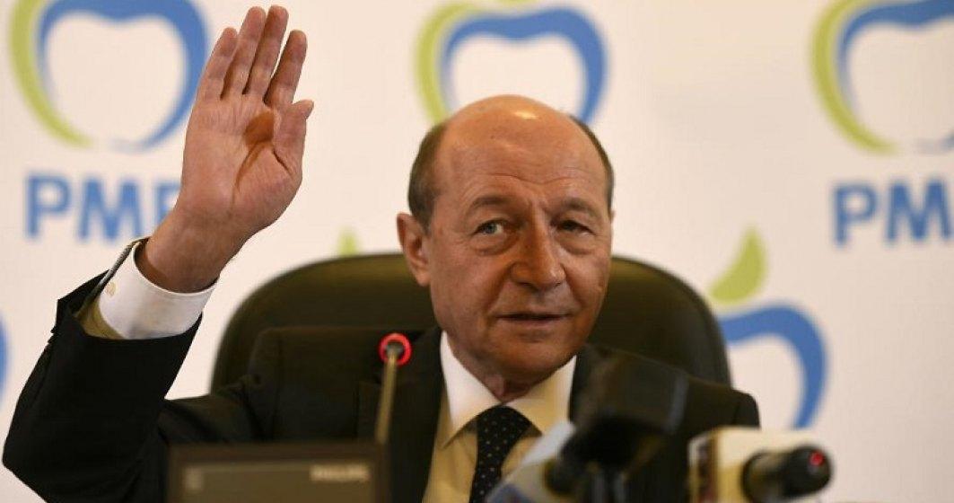 Basescu: Recunosc inregistrarile facute publice de Ghita, sunt din discutii private din ultimele luni ale anului 2016, dar au fost editate