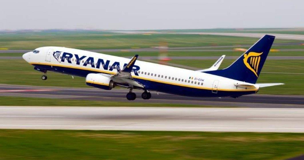 O cursa Ryanair s-a intors pe aeroportul Henri Coanda din cauza unei erori