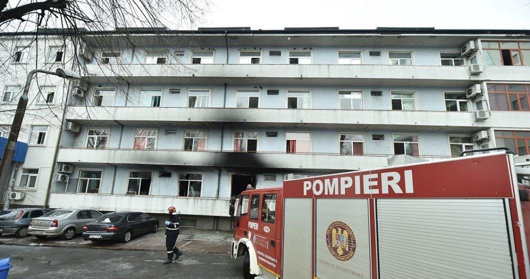 Încă un deces în urma incendiului de la Matei Balș
