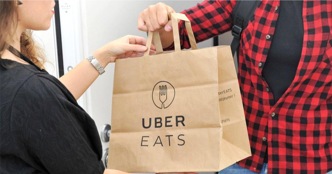 Adio comenzi de mâncare cu Uber în România. Uber Eats îsi incetează activitatea