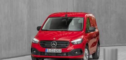 Noul Mercedes-Benz Citan poate fi comandat începând din septembrie