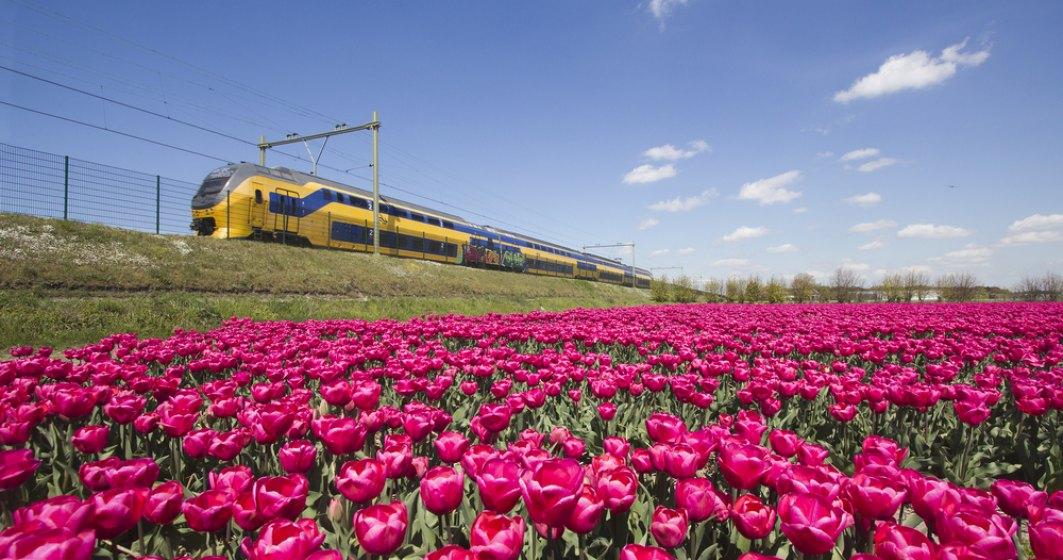 Mersul trenurilor din Olanda trece de la minute la secunde