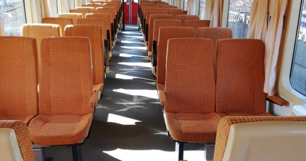CFR Călători a crescut numărul de vagoane la 881, după ce a reparat și a modernizat mai multe vagoane din parc