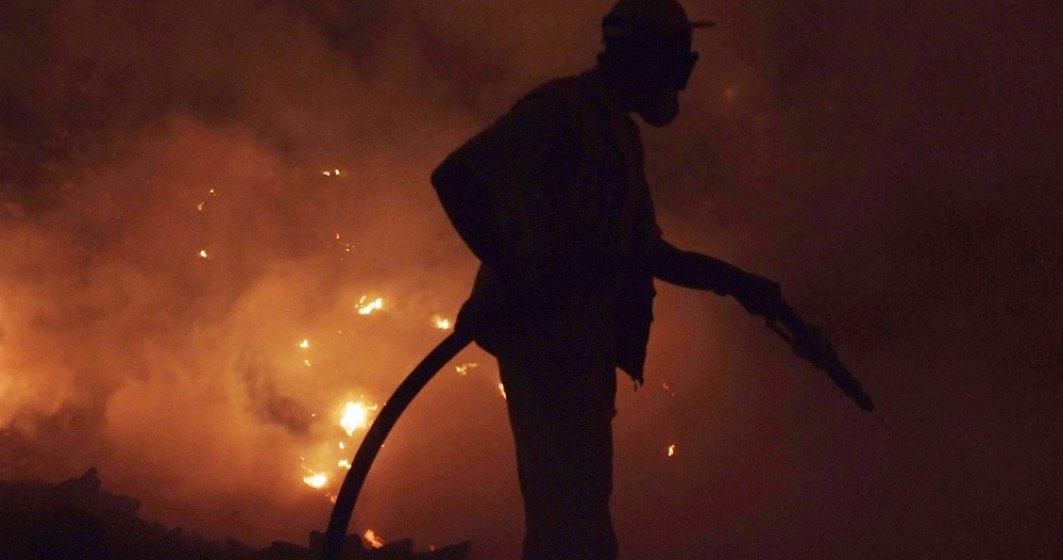 Incendii masive în Turcia, aproape de Antalya, un loc preferat de turiștii români