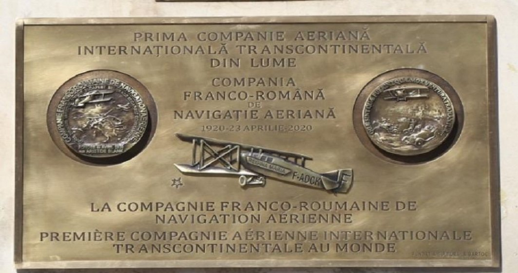 AVIAȚIE | S-au împlinit 100 de ani de la înființarea Companiei Franco-Române de Navigație Aeriană