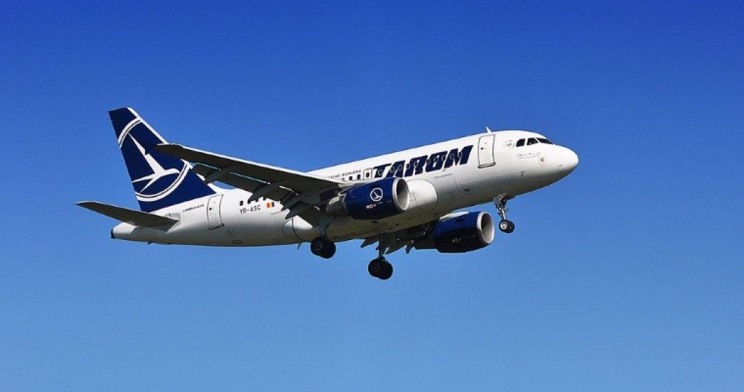 TAROM reduce tarifele la bilete pentru anumite destinatii