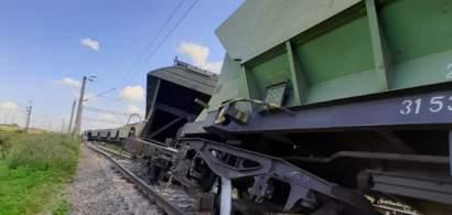 Circulaţie feroviară blocată la intrare în staţia CF Feteşti. Trenurile spre...