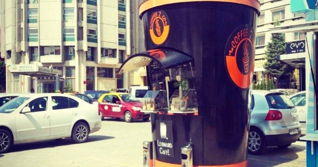 Coffee 2 Go estimeaza afaceri de 666.000 euro din aroma la pahar