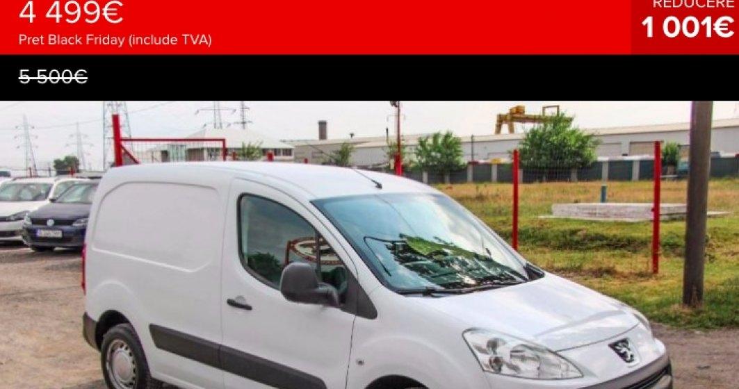 Dealerii auto profita de Black Friday 2017: vand si masini second-hand vechi de 8 ani