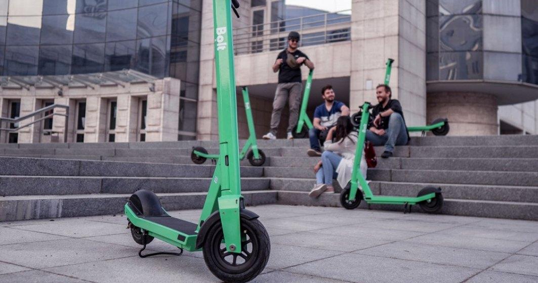 Bolt reduce cu o treime preţul pentru utilizarea trotinetelor electrice în Bucureşti