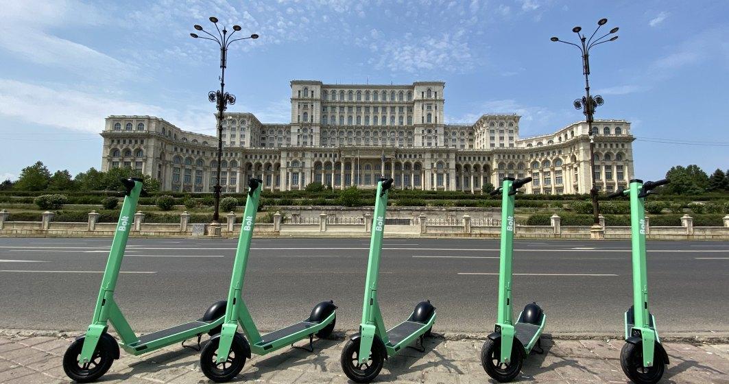 Bolt aduce trotinetele electrice și în București: cât costă o cursă
