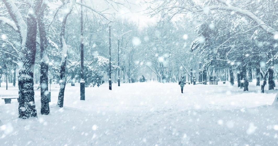 Prognoza meteo miercuri 09 ianuarie: Urmeaza doua zile cu ninsori abundente in toata tara