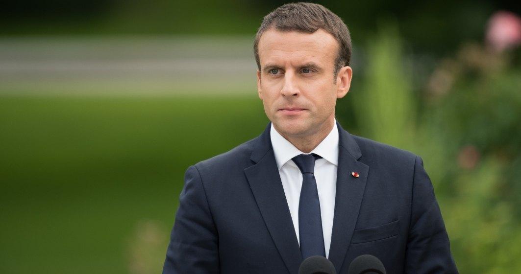 "Emanuel Macron, presedintele Frantei: NATO este in ""moarte cerebrala"""
