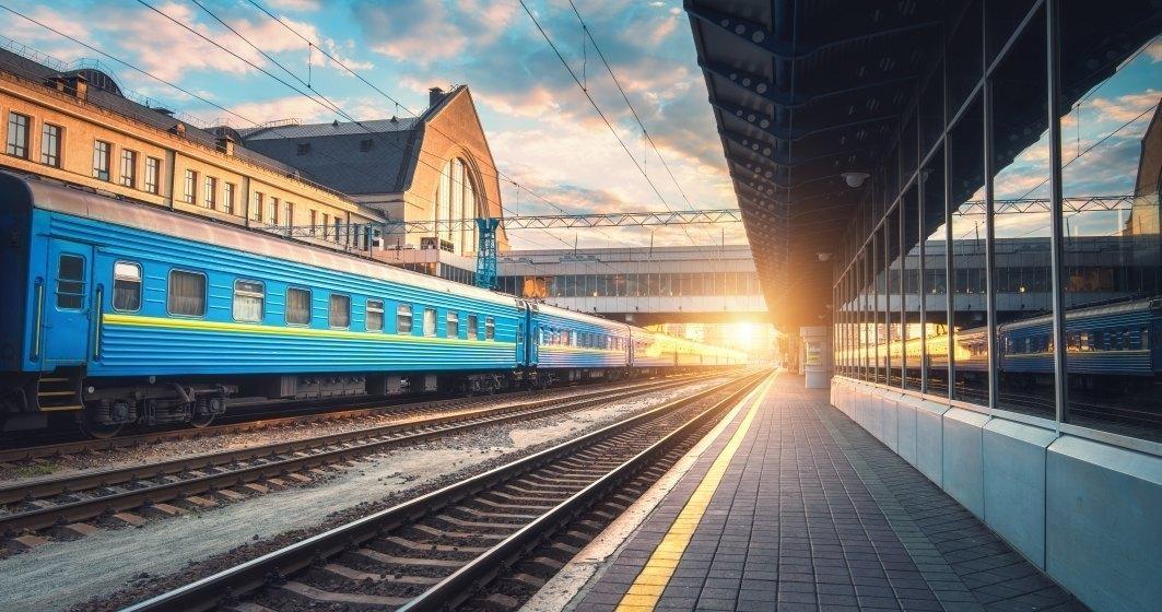 Lucrarile la calea ferata care leaga Aeroportul International Henri Coanda de Gara de Nord vor continua