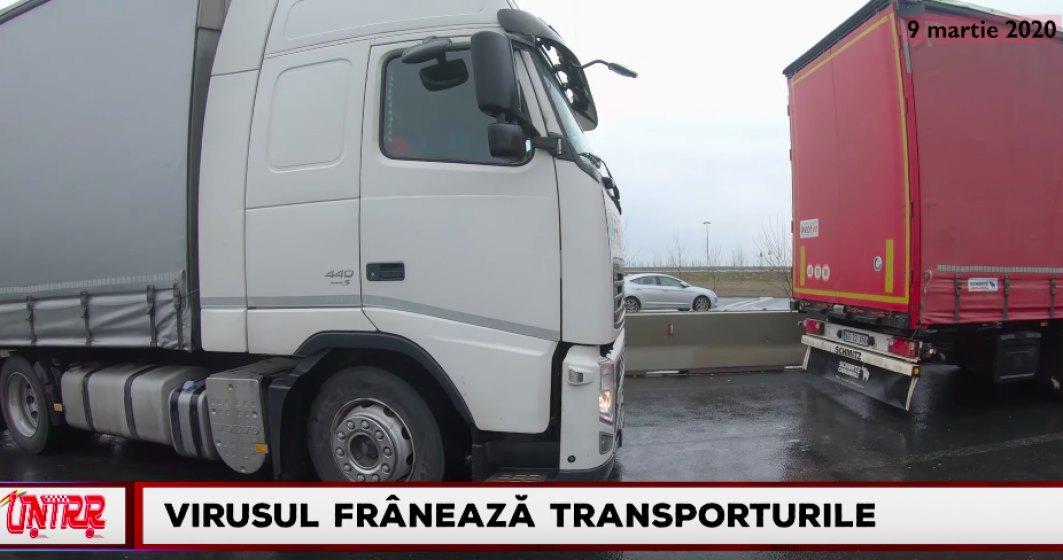 Reportaj videola punctul de trecere a frontierei Nădlac 2: Coronavirusul frânează transporturile rutiere