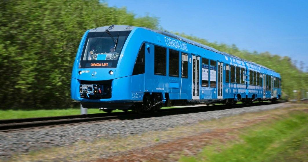 Germania inlocuieste trenurile diesel cu unele pe hidrogen