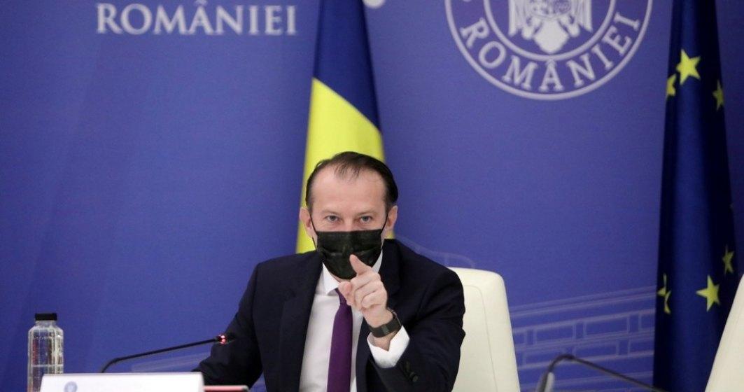 Florin Cîțu despre rectificarea bugetară: Cheltuielile din trimestrul doi, mai mici decât am estimat