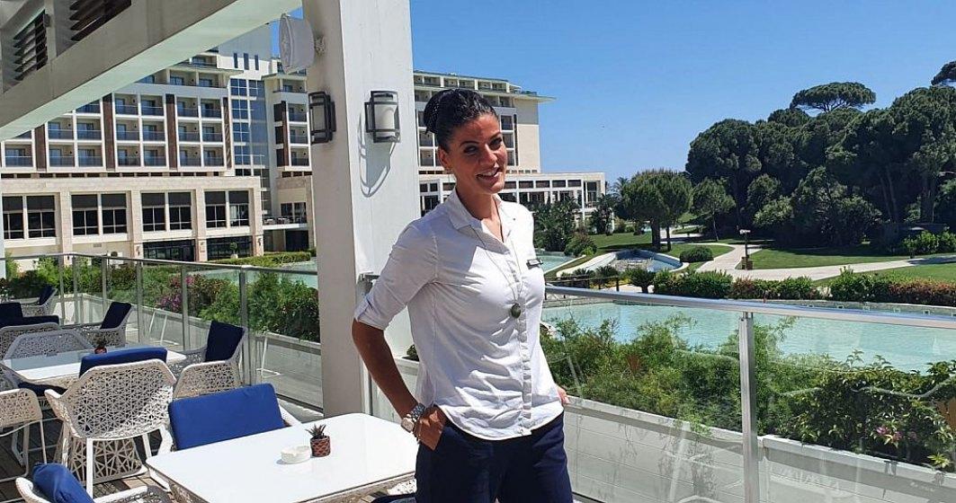 """Românca """"all inclusive"""": Cum a ajuns Ana Maria Ienea să ocupe o funcție în top managementul unuia dintre cele mai luxoase lanțuri hoteliere din Turcia"""