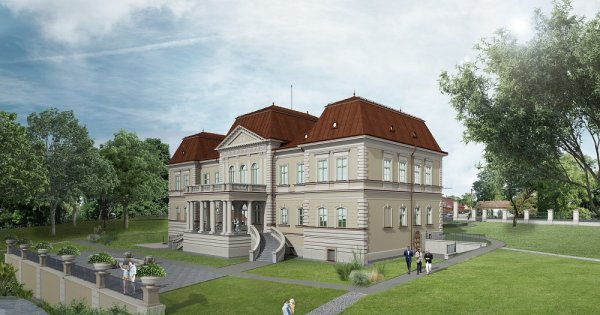 Au început lucrările de reabilitare la Castelul Bánffy din Cluj