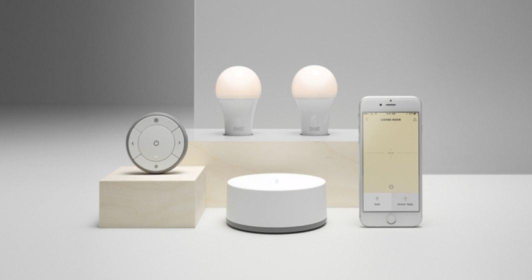 Sistemele inteligente de iluminat IKEA, compatibil Amazon, Google Home si Apple HomeKit