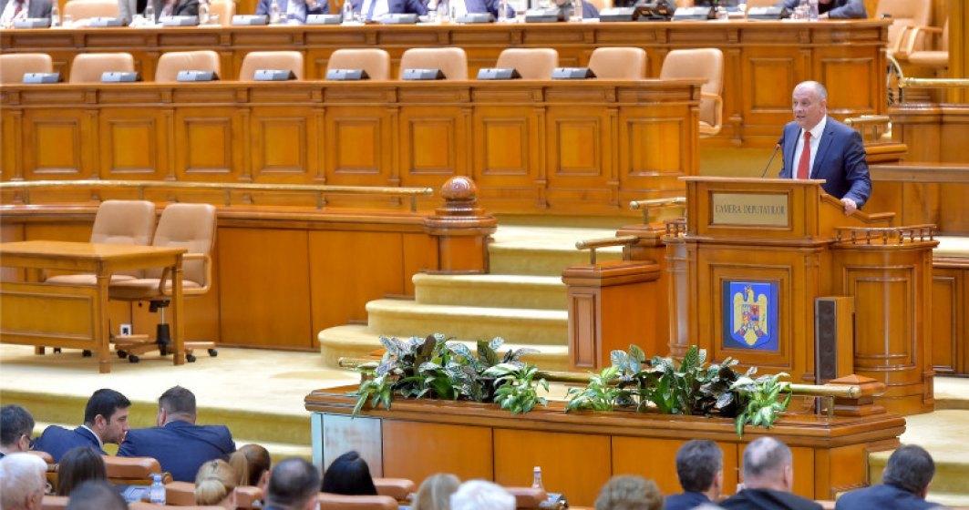 """Senatorul Chițac a fost confirmat cu coronavirus, la o zi după ce nega informația, vorbind despre """"isterie"""". A fost luni în Parlament"""