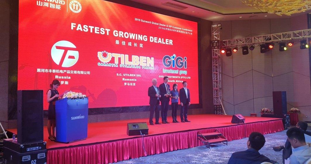 (P) UTILBEN - SUNWARD, parteneriat puternic pe piata de utilaje