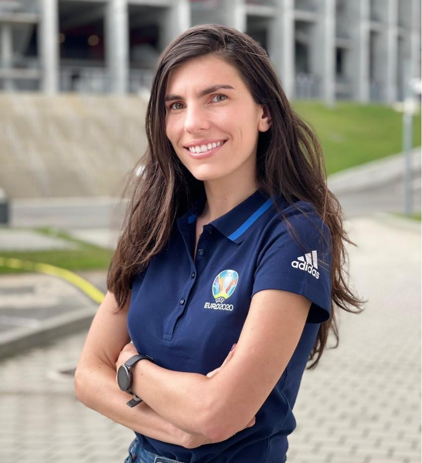 Diana Pirciu, managerul programului de voluntariat de la EURO 2020 de la București