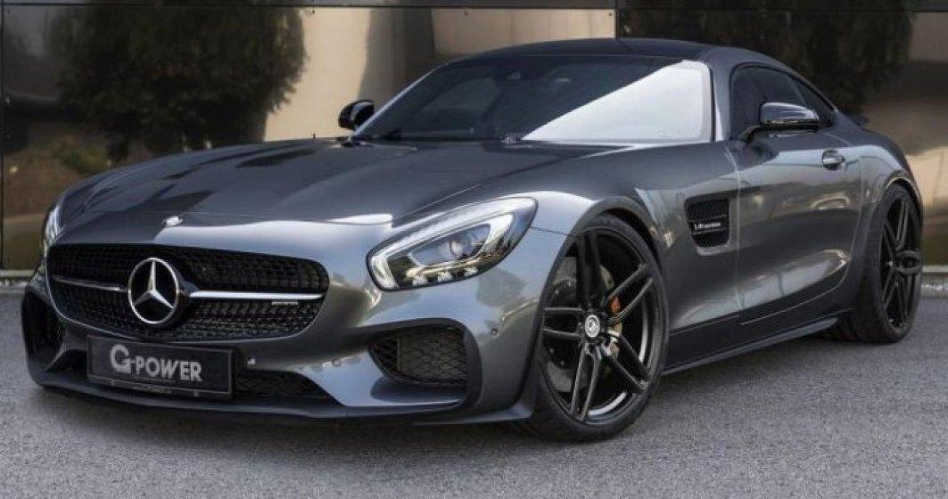 Mercedes-AMG GT primeste primul pachet de tuning al anului de la G-Power