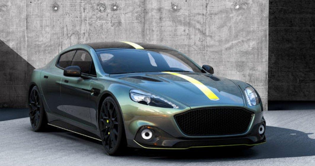 """Aston Martin nu alearga dupa clientii concurentei: """"Noul model electric RapidE va fi diferit fata de orice Tesla"""""""